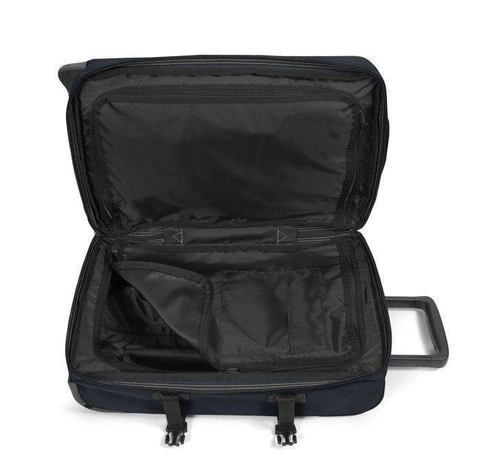 La valise cabine Eastpak est équipée de 2 compartiments de rangement