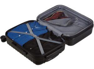 Contenu d'une valise rigide