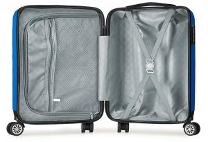 La valise cabine pas cher est organisée en 2 compartiments