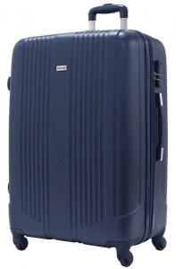 La valise rigide alistair offre un maximum de rangements.