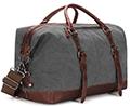 Une valise vintage sous la forme d'un sac de sport avec cette valise  de Baosha
